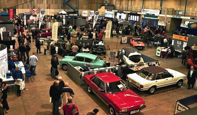 Footman James Bristol Classic Car Show